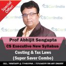 Abhijit Sengupta CS Executive Costing Tax Laws Video Lectures