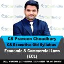 CS Praveen Choudhary CS Executive ECL Video Lectures