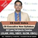 CS Amit Vohra CS Executive New Syllabus Video Lectures Combo