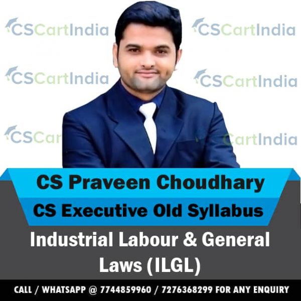 CS Praveen Choudhary CS Executive ILGL Video Lectures