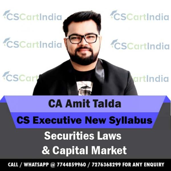 CA Amit Talda CS Executive SLCM Video Lectures
