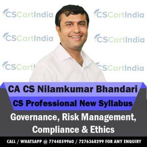 Nilamkumar Bhandari CS Professional GRMCE Video Lectures