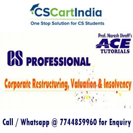 CS Professional Corporate Restructuring