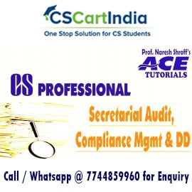 CS Professional Secretarial Audit