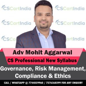 CS Professional New Syllabus GRMCE Video Lectures by Adv Mohit Aggarwal