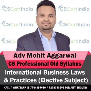 CS Professional International Business Laws Video Lectures