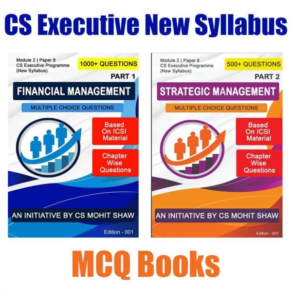 CS Executive Financial Strategic Management MCQ Book