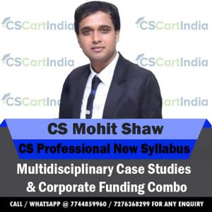 CS Professional Group 3 MCS & CFLSE Video Lectures Combo