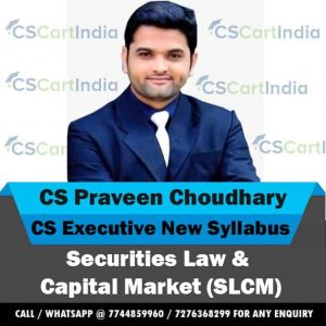 CS Praveen Choudhary CS Executive SLCM Video Lectures