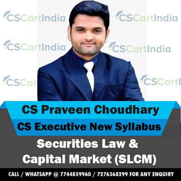 CS Praveen Choudhary CS Executive SLCM Video Lectures