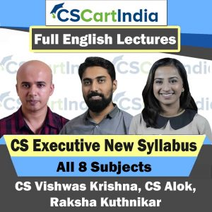 CS Executive New Syllabus Full English Video Lectures