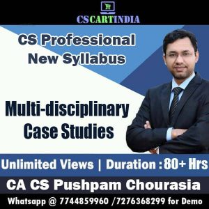 CS Professional Multidisciplinary Case Studies Video Lectures