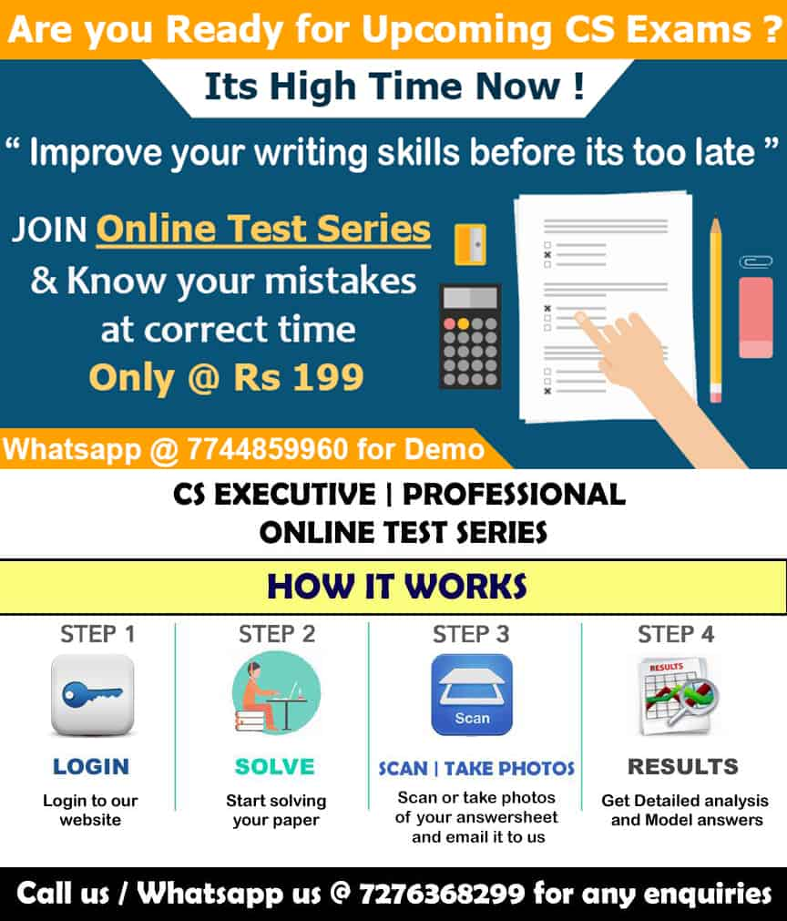 Test Series for CS Students
