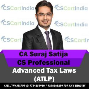 CS Professional Advanced Tax Laws Video Lecture