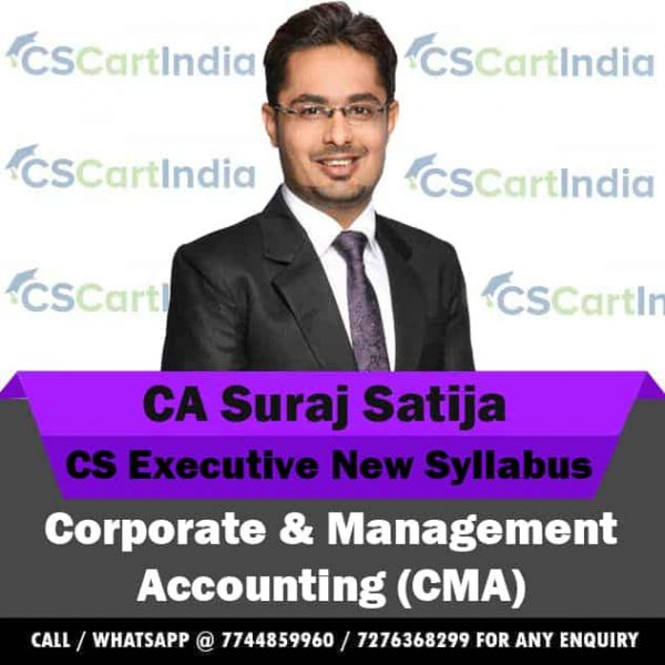 CS Executive CMA Video Lectures