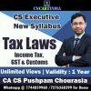 CA Pushpam Chourasia CS Executive Tax Laws Video Lectures
