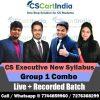 CS Executive Group 1 Online Classes