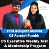 CS Executive Weekly Test and Mentorship Program
